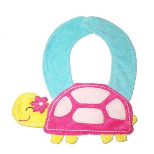 Tortoise Girl Bib    Condition  New      Tortoise Girl Feeding Bib  Contact Letima House Baby Shop : Text & Whatsapp: +62-877-8080-6878  Blackberry Pin : BBM: 512B5D2E / 74B97998