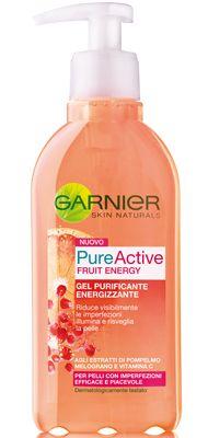 Garnier Pure Active Fruit Energy - Gel purificante energizzante
