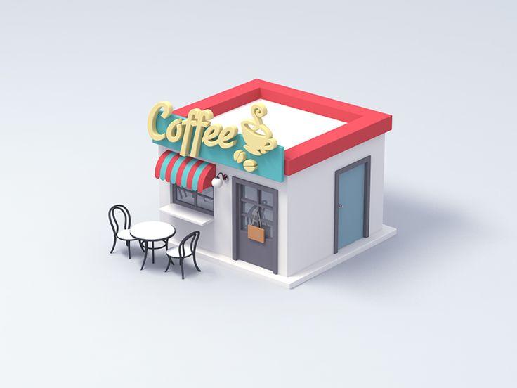 Coffeeshop by oumomo