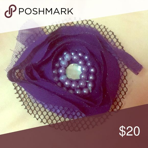 Target Purple Vintage Hair Pin Description: Purple, Vintage, Black Lace, Beads and Jewel Rhinestone, Used, great condition This beautiful pin is perfe...