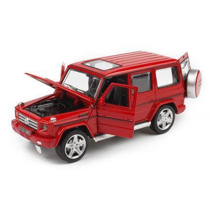 美致1:32奔驰G55越野合金车仿真小车开门声光汽车模型儿童玩具车