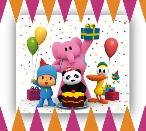 Invitaciones de cumpleaños de pocoyo Imagenes y dibujos para imprimir Invitaciones de