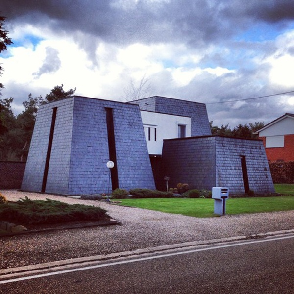 Belgium S Shamelessly Ugly Houses Make For A Surprisingly