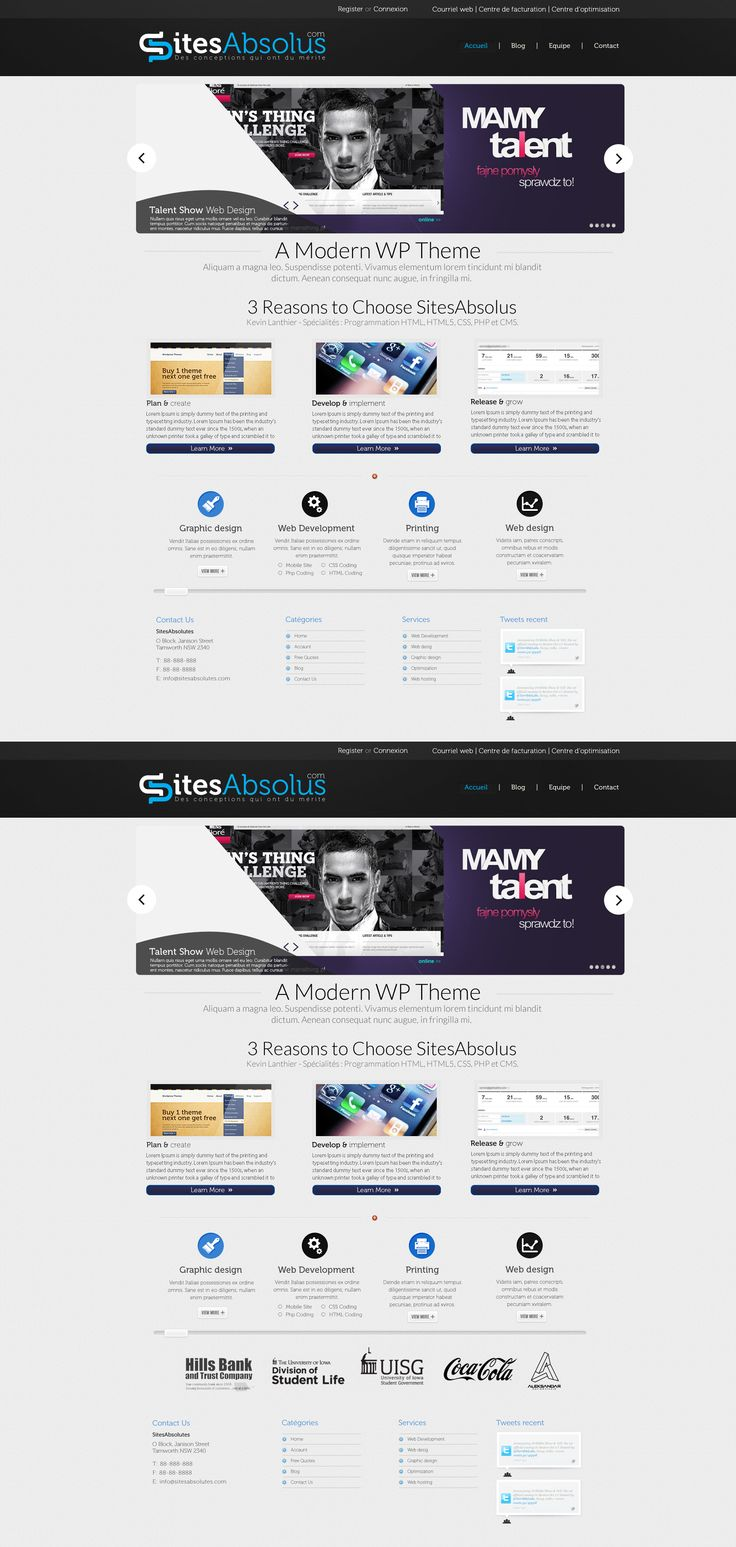 Sites Absolutes Web Design  by *vasiligfx  #webdesign
