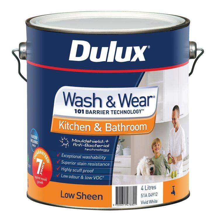 White Bathroom Paint Dulux dulux bathroom paint 1l | pinterdor | pinterest | paint, dulux