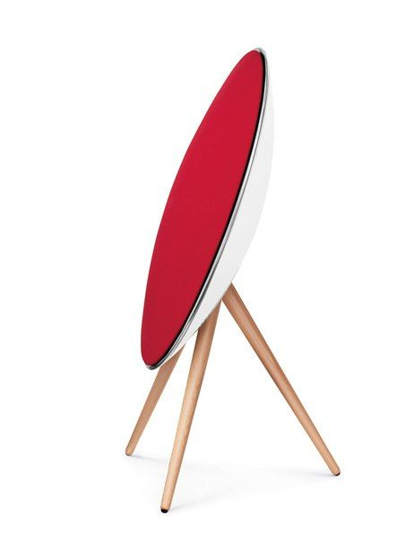 Produced in a choice of six colors, the A9 speaker from B Play, an offshoot of Bang & Olufsen, makes a bold statement in both style and sound.