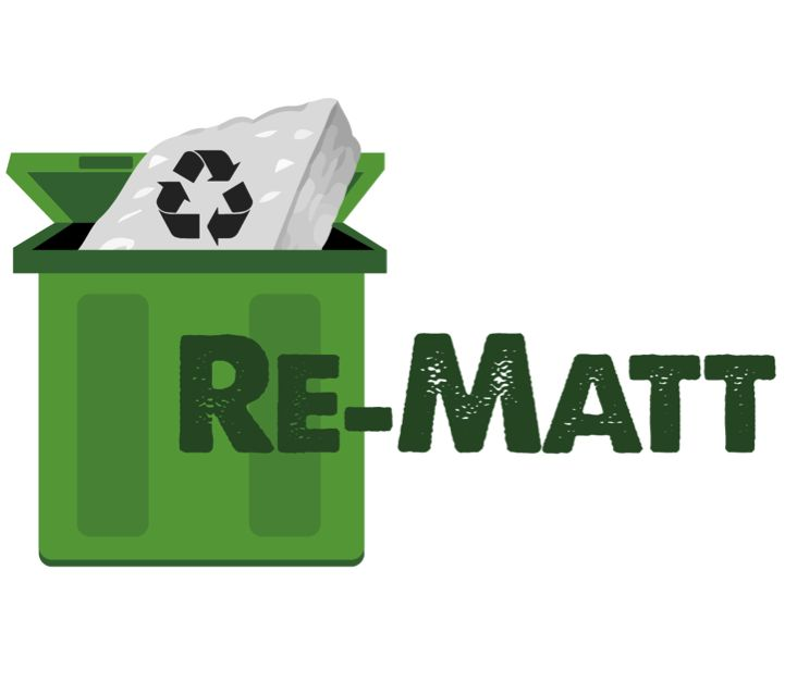 www.re-matt.com #YYC Mattress Recycling #recycledmattress