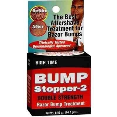 From 2.85:High Time Bump Stopper  Double Strength Razor Bump Treatment