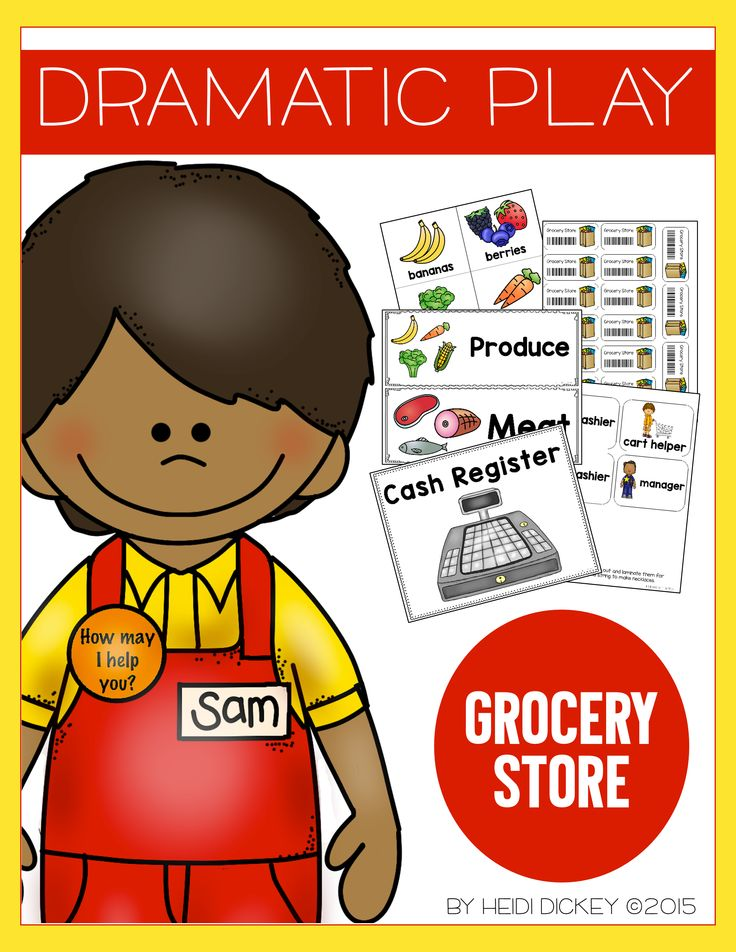 grocery store dramatic play dramatic play plays and