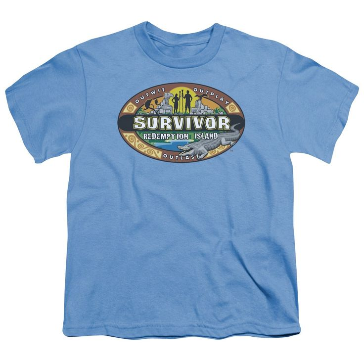 Survivor/Redemption Island Short Sleeve Youth 18/1 Carolina