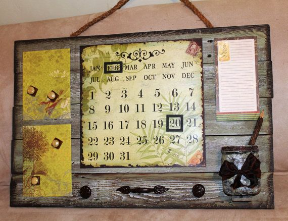 25 best perpetual calendars images on Pinterest Perpetual - how to make a perpetual calendar