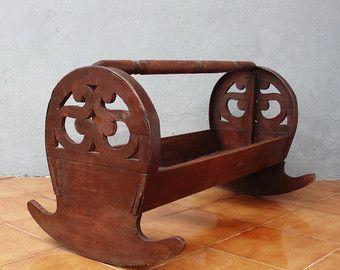 Albanian traditional Baby Cradle