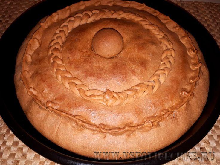 Зур бэлиш Одним из самых вкусных блюд татарской кухни считается — Зур бэлиш (большой пирог). Он представляет собой закрытый пирог с вкусной начинкой — мясо с картофелем. Зур бэлиш — это праздничное блюдо, очень нарядное, которое татары, как правило, готовят для приема дорогих гостей или же в выходные для родни. Сегодня я хочу поделиться вкусным рецептом, чтобы и вы смогли побаловать гостей и домочадцев этим замечательным татарским пирогом.