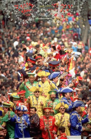 Carnival in Cadiz, Spain.
