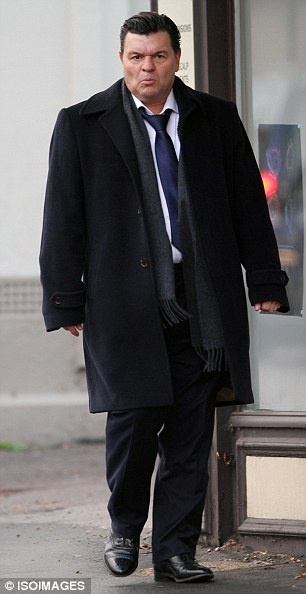 Jamie Foreman as Dereck Branning on Eastenders.