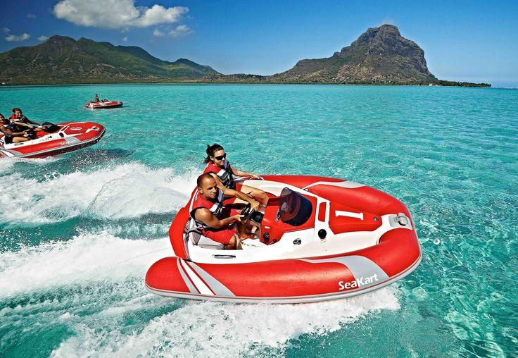 Sea Kart sea activities #Mauritius