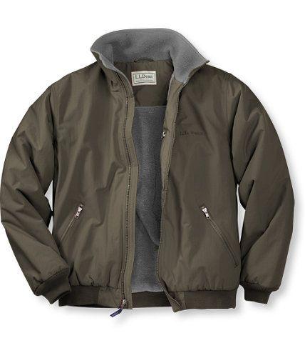 Warm Up Jacket Fleece Lined