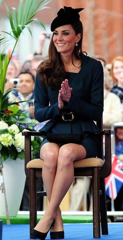 She is so ladylike!Duchess Of Cambridge, Jubilee Tours, Middleton Photos, Beautiful, Kate Middleton, Royal Visit, Duchess Kate, Catherine Duchess, Diamonds Jubilee