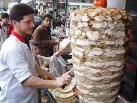 Shawarma  Israel Lebanon Palestine Meats Sandwiches Beef Chicken Lamb Street Food      (Middle Eastern spiced meat sandwich