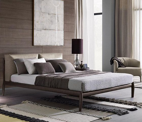 Double beds | Beds and bedroom furniture | Eladio Bed | Misura. Check it out on Architonic