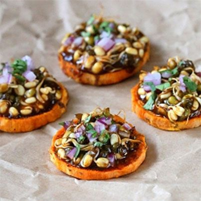 34 best images about canapes on pinterest for Sweet canape ideas