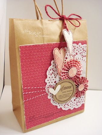 Wedding Gift Bag Decorating Ideas : bags brown bags decorated gift bags homemade gift bags party gift bags ...