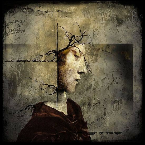 Maybe all we can do is hope to end up with the right regrets. ~ Arthur Miller    artist - Headcrime