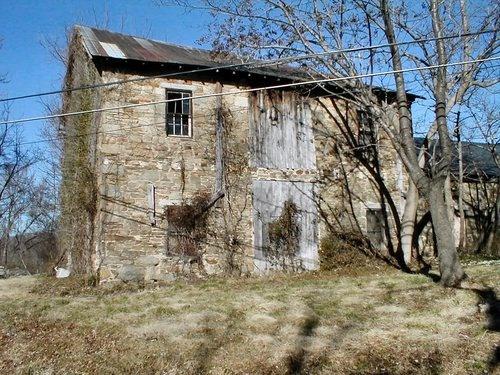 stone barn in France
