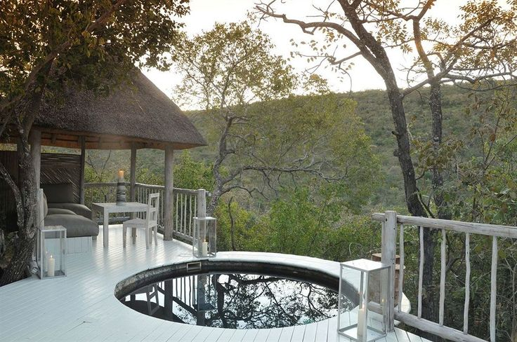 When you stay at Clifftop Exclusive Safari Hideaway in Vaalwater, you'll be minutes from Vaalwater Field. This 5-star hotel is within the vicinity of Kamonande Nature Reserve. #safarihotels