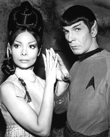 """Spock and T-Pring """"Amok Time"""""""