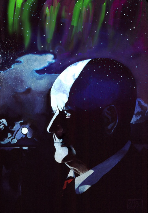Portrait of Sibelius by Walter Albertson