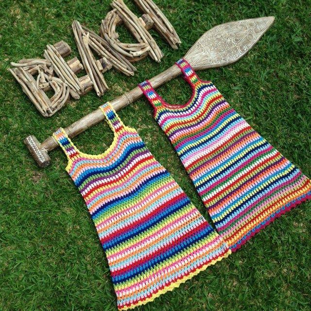 Image of Gidget Crochet Dress