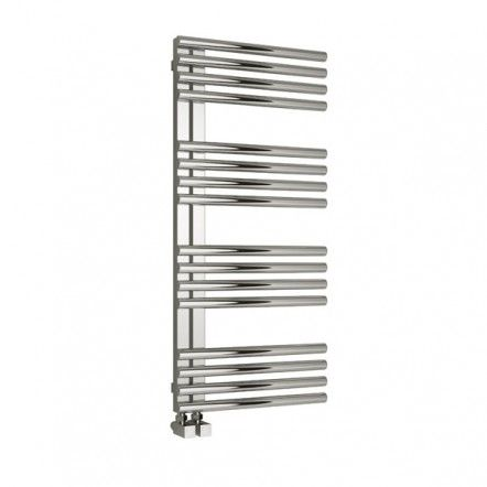 Reina Adora Polished Finish Stainless Steel Electric Radiator 800mm x 500mm