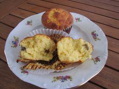 Túrós batyu ízű kókuszos-citromos muffin (paleo)