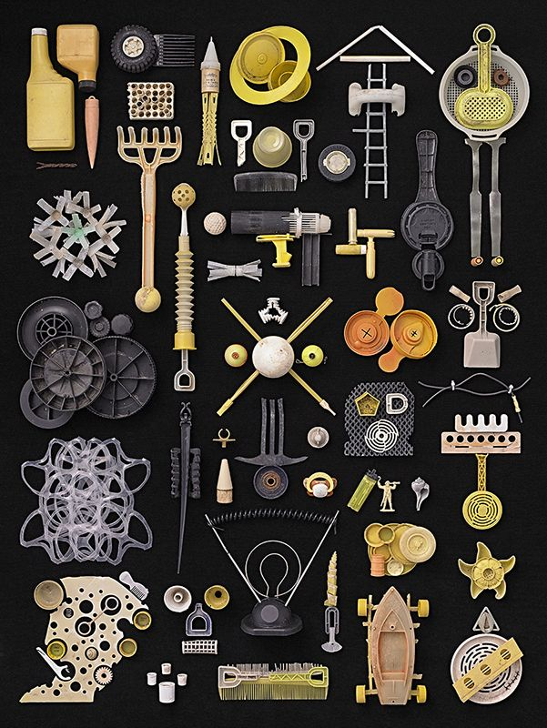 SUBMISSION: From the series, 'Found In Nature' by Barry Rosenthal. pinned from things organized neatly