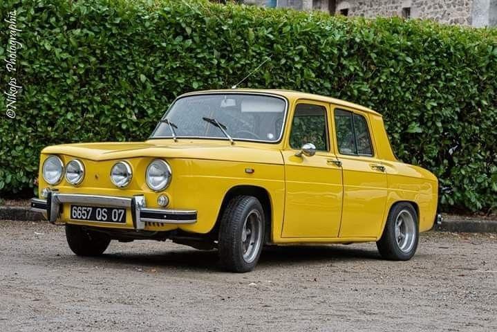 épinglé Sur Renault 8 R8m S Ts G