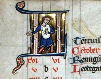 Houghton Library. MS Typ 311. Psalter (Gallican). f. 5v | por renzodionigi