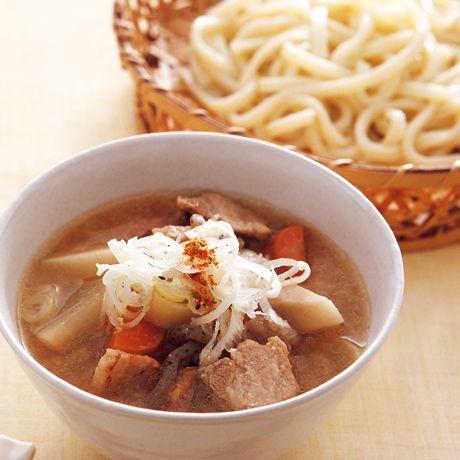豚汁つけうどん | 野口真紀さんのうどんの料理レシピ | プロの簡単料理レシピはレタスクラブニュース
