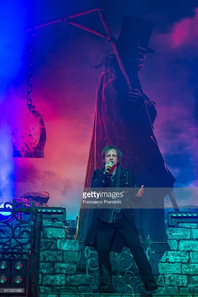 Tobias Sammet of Avantasia performs on March 22, 2016 in Milan, Italy.