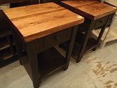 Genuine Amish end tables