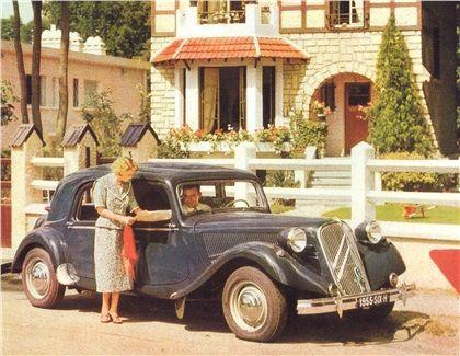 Citroen Traction Avant 15CV Type Six-H, 1955