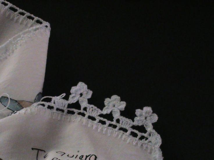 676 besten crochet borders edging bilder auf pinterest. Black Bedroom Furniture Sets. Home Design Ideas