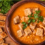 The Turkey Red Lentil Soup is a simple, flavorful and nutritious recipe. The soup is low in carbs, fat, and sugar making it a favorable meal for weight loss.        Directions