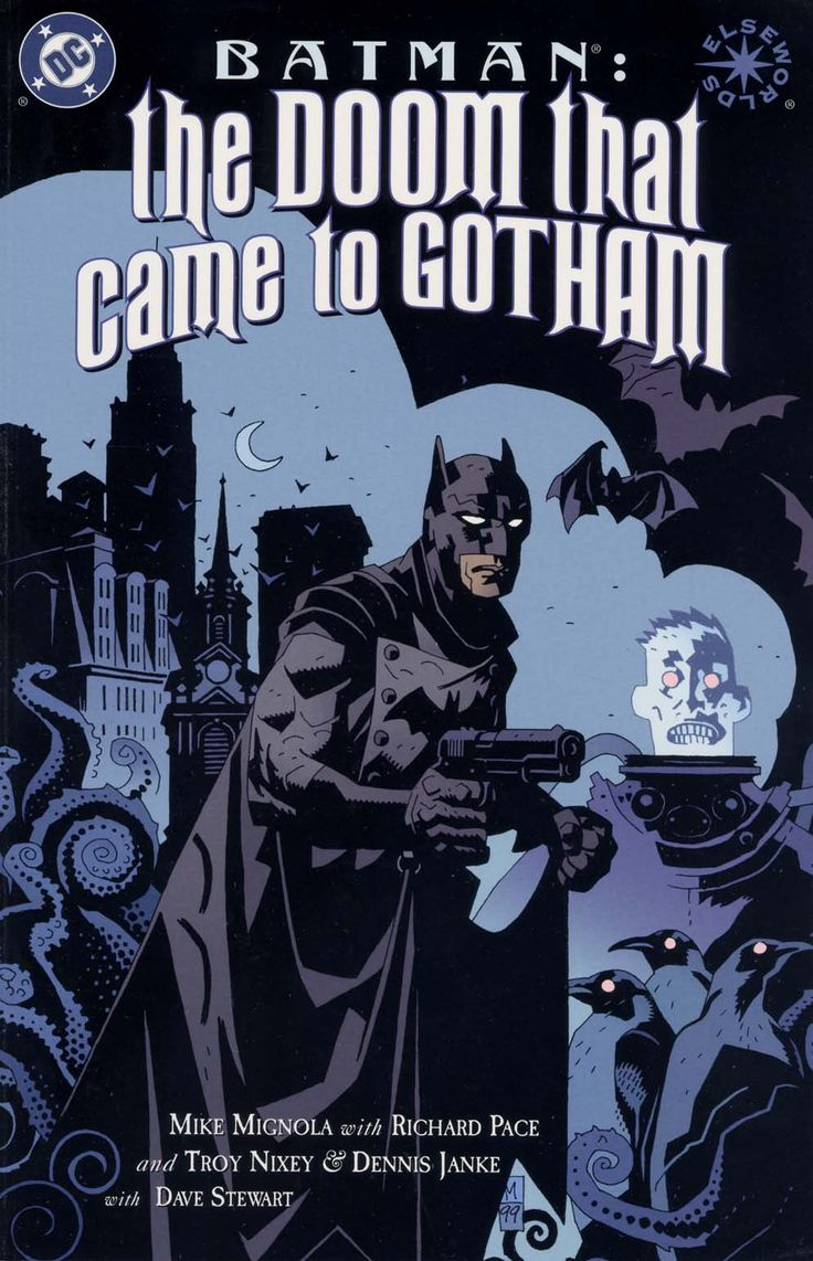 Batman The Doom That Came To Gotham #1