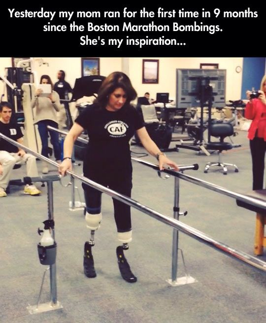 She's my inspiration… Saw this on the news yesterday, FANTASTIC!!!