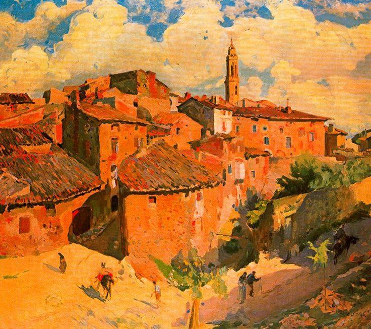 The Athenaeum - El pueblo de los avellanos (Joaquin Mir Trinxet - )
