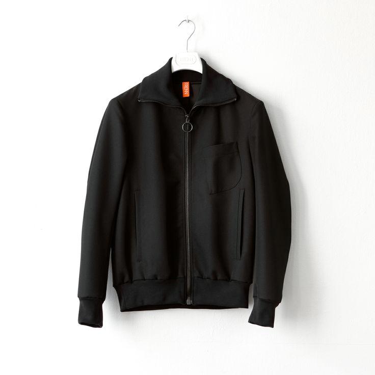 FRENN SS14 - Nils recycled polyester twill bomber jacket www.frenncompany.com