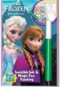 Disneys Frozen Tinta Invisible Libro De Colorear $5.00!