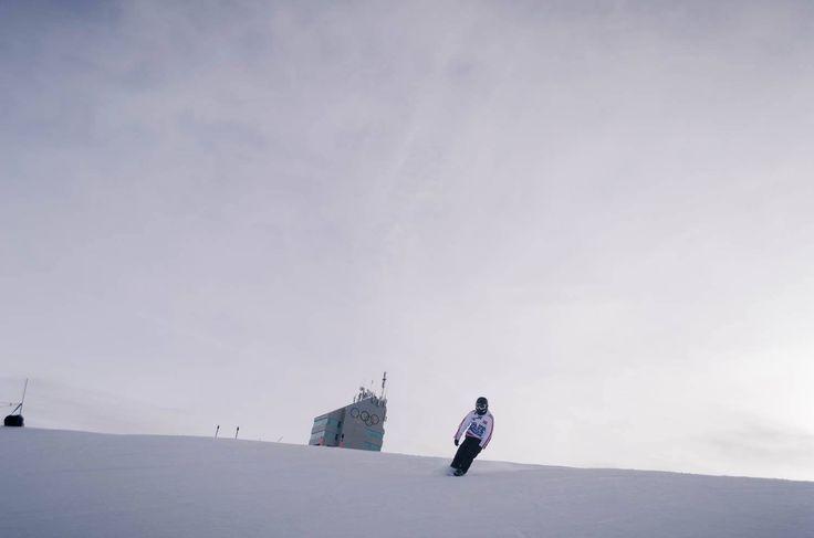 Gliding down the run at COP with some #SledDogs #Snowskates. #SkiCanda