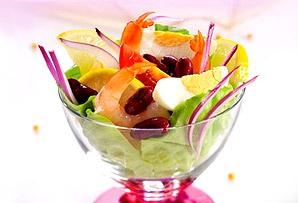 Koktajl z krewetek/ Shrimp Cocktail  www.winiary.pl